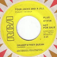 Four Jacks And A Jill - Grandfather Dugan / Stone In My Shoe