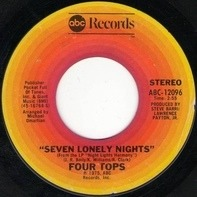 Four Tops - Seven Lonely Nights / I Can't Hold On Much Longer