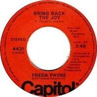 Freda Payne - Bring Back The Joy