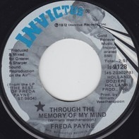 Freda Payne - Through The Memory Of My Mind