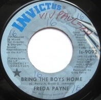 Freda Payne - Bring The Boys Home / I Shall Not Be Moved