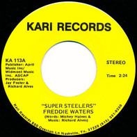 Freddie Waters - Super Steelers