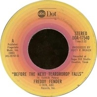 Freddy Fender - Before The Next Teardrop Falls / Waiting For Your Love