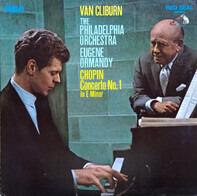 Chopin - Van Cliburn & Philadelphia Orch. (Ormandy) - Concerto No.1 In E Minor