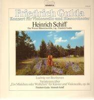 Friedrich Gulda - Konzert für Violoncello und Blasorchester - gespielt von Heinrich Schiff, Wiener Bläserensemble, Lt