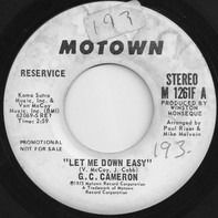 G.C. Cameron - Let Me Down Easy