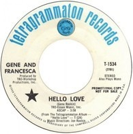 Gene And Francesca - Hello Love / On My Own
