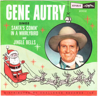 Gene Autry - Santa's Comin' In A Whirlybird