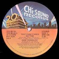 Gene Chandler - That Funky Disco Rhythm / Do What Comes So Natural