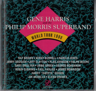 Gene Harris And The Phillip Morris Super Band - World Tour 1990