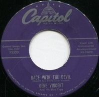 Gene Vincent & His Blue Caps - Race With The Devil / Gonna Back Up Baby
