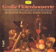 Georg Philipp Telemann , Antonio Vivaldi , Giuseppe Sammartini , Michel Blavet , Carl Philipp Emanu - Große Flötenkonzerte