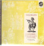 Georg Philipp Telemann , Richard Schulze , Telemann Society Orchestra - 3 Concerti