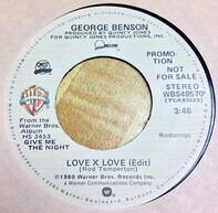 George Benson - Love X Love (Edit)
