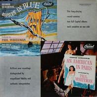 George Gershwin - William Steinberg , The Pittsburgh Symphony Orchestra , Jesus Maria Sanroma - Rhapsody In Blue / An American In Paris
