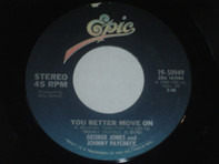 George Jones And Johnny Paycheck - You Better Move On / Smack Dab In The Middle