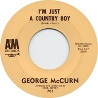 George McCurn - I'm Just A Country Boy / In My Little Corner Of The World