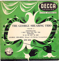 George Shearing Trio - The George Shearing Trio - Vol. 2