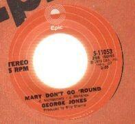 George Jones - mary don't go 'round