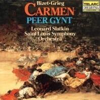 Georges Bizet , Edvard Grieg - Leonard Slatkin , Saint Louis Symphony Orchestra - Carmen • Peer Gynt