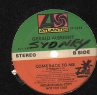 Gerald Albright - come back to me