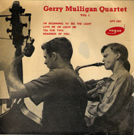 Gerry Mulligan Quartet - Vol 1