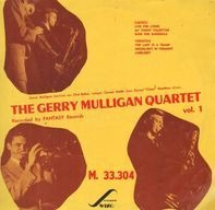 Gerry Mulligan Quartet - Vol. 1