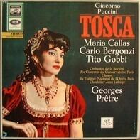 Puccini  / Callas /  Bergonzi Orch. De La Société Des Concerts - Tosca