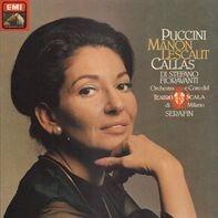 Giacomo Puccini , Maria Callas , Giuseppe di Stefano , Fiorenza Cossotto , Giulio Fioravanti , Dino - Manon Lescaut