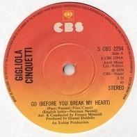 Gigliola Cinquetti - Go (Before You Break My Heart)