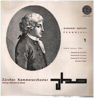 Pergolesi - A. Jaunet, De Stoutz w/ Zürcher Kammerorchester - Concertino