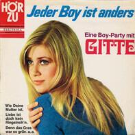 Gitte Hænning - Jeder Boy Ist Anders - Eine Boy-Party Mit Gitte