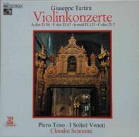 Giuseppe Tartini , Piero Toso , I Solisti Veneti , Claudio Scimone - Violinkonzerte