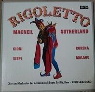 Verdi/ Cornell Macneil , Joan Sutherland , Renato Cioni a.o. - Rigoletto