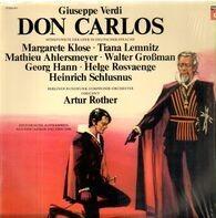 Giuseppe Verdi ' José Carreras ' Mirella Freni ' Nicolai Ghiaurov ' Agnes Baltsa ' Piero Cappuccill - Don Carlos