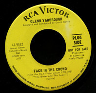 Glenn Yarbrough - Face In The Crowd / Times Gone By