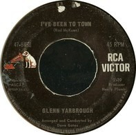 Glenn Yarbrough - Baby The Rain Must Fall / I've Been To Town