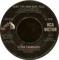 Glenn Yarbrough - Baby The Rain Must Fall / The Honey Wind Blows