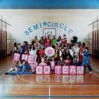 Go! Team - Semicircle -Coloured-