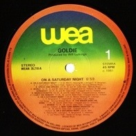 Goldie - On A Saturday Night