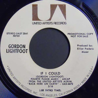 Gordon Lightfoot - If I Could