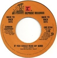 Gordon Lightfoo - If You Could Read My Mind
