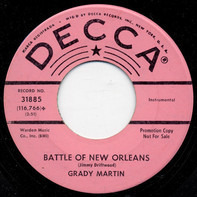 Grady Martin - Battle Of New Orleans / May The Bird Of Paradise Fly Up Your Nose