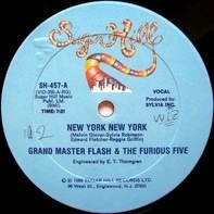 Grand Master Flash & The Furious Five - New York New York