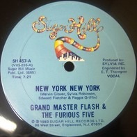 Grandmaster Flash & The Furious Five - New York New York