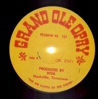 Grand Ole Opry - Grand Ole Opry Program No. 207