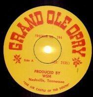 Grand Ole Opry - Grand Ole Opry Program No. 244