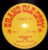 Grand Ole Opry - Grand Ole Opry Program No. 250