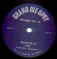 Grand Ole Opry - Grand Ole Opry Program No. 35