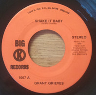 Grant Grieves - Shake It Baby